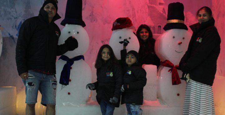 Snow Sculpture & Snowmen